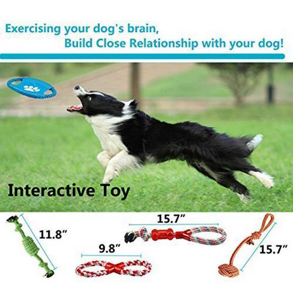 Indestructible Dog Toys For Aggressive Chewers 100% Safe Best Small Medium  M6P8
