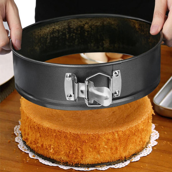 "4/7/9"" Non Stick Cake Tier Mold Baking Pan Tray Spring Form Round Bakeware Tool"