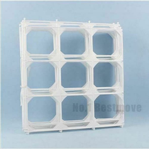 10PCS 9-Grid Balloons Square Shaped Modeling Tool Wall Party Wedding Home Decor