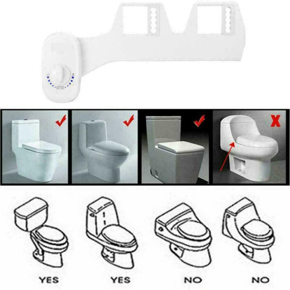 7/8 Toilet Seats Attachment Bathroom Water Spray Non-Electric Mechanical A7A3