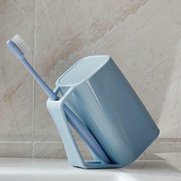 Useful Toothbrush Holder Dust-proof Toothpaste Stand Squeezer Suction Bathroom