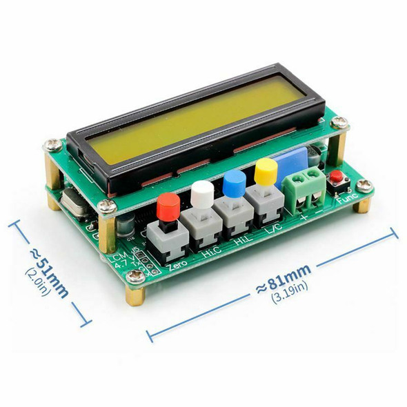Digital LCD Capacitance meter inductance table TESTER LC Meter Frequency 1p P2V8