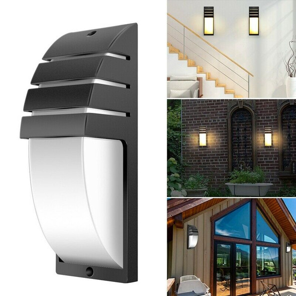 Warm White Outdoor Waterproof Led Wall Lamps Ac90-260V Aluminum Courtyard G V7Z8