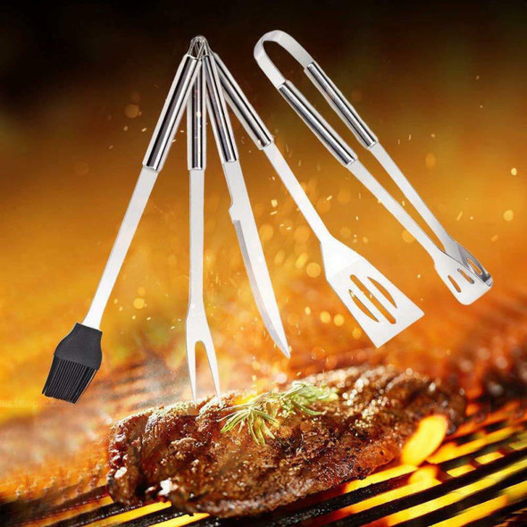 9pcs BBQ Barbecue Tool Set Stainless Steel Grill Grilling Accessory Wit MYZ