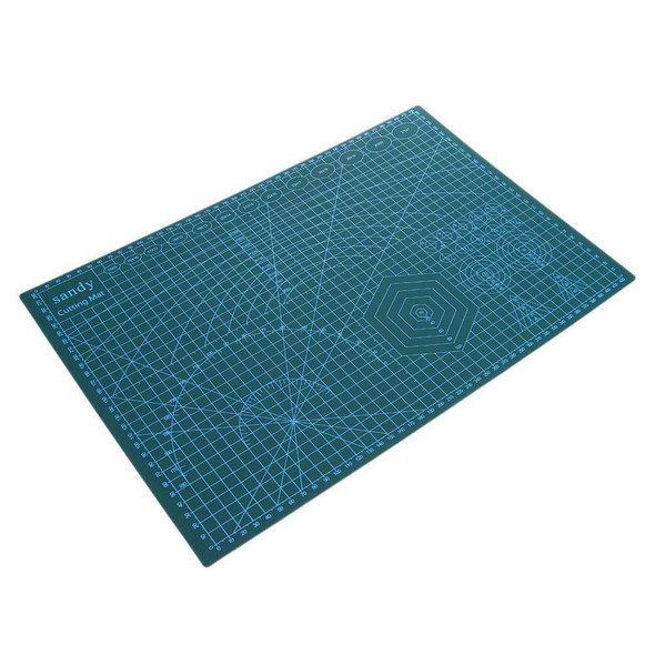 A3 PVC Double Side Self-healing Non Slip DIY Cutting Board Patchwork Mat  K1B