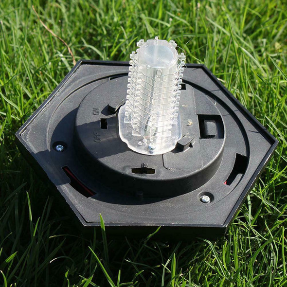 Outdoor Solar Power Mosquito Killer LED Lamp Waterproof Garden Insect Trap Light