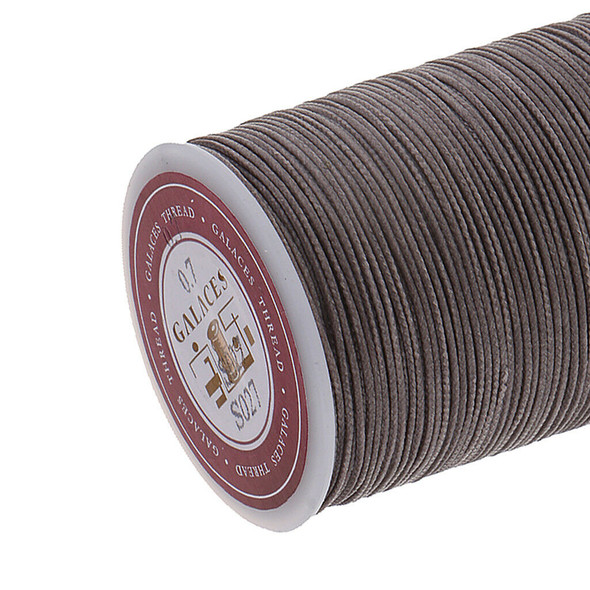 5 Rolls 7mm Waxed Cord Leather Sewing Thread Braided Strings For DIY Crafts