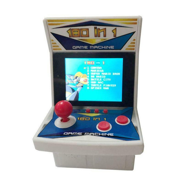 180 In 1 Rertro Mini Arcade Game Console Handheld Game Machine for Gaming Lovers