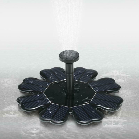 Fountain Solar Energy 8V 1.6W Solar Panel Kit Fountain Water Pump Brushless X8C2