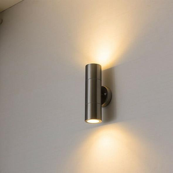 Stainless Steel Led Wall Outdoor Led Wall Lamp Up And Down Porch Lights 2 x Z5T2