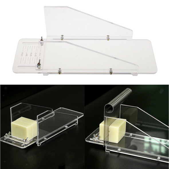Acrylic Soap Cutter Box Loaf Soap Making Mould Cutter Cake Chocolate Cutting