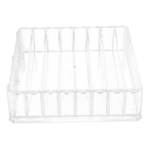 Clear Makeup Cosmetic Storage Box Case Lipstick/Eye Shadow Blusher Organizer