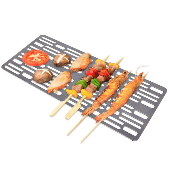 Titanium Charcoal Bbq Grill Barbecue Net Camping Outdoor Grill Net W2W1