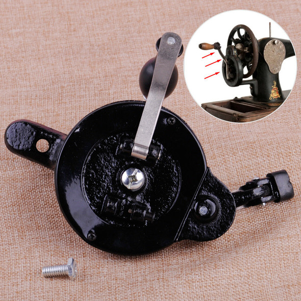 Hand Crank Parts fit for Singer Spoked Wheel Treadle Sewing Machines Accessories