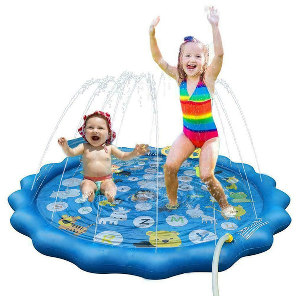 Children Play Water Mat Games Beach Pad Outdoor Children PVC Toys Cushion E6I7