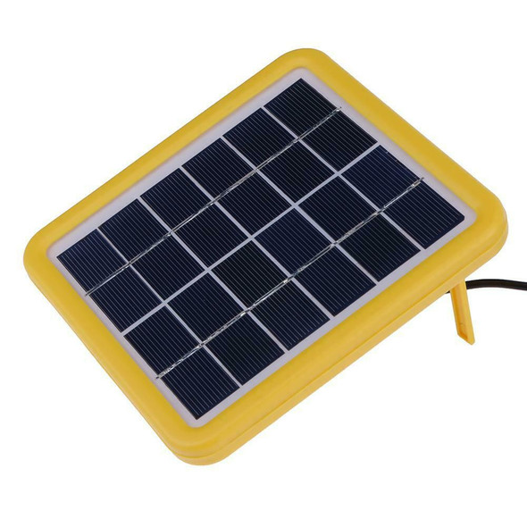 2W 6V Wired Polycrystalline PET + EVA Laminated Mini Solar Cell Panel A#S