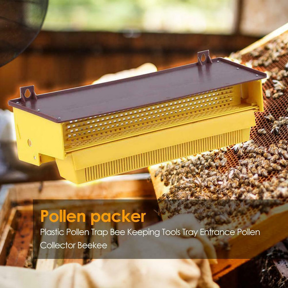 Beekeeping Plastic Pollen Trap Bee Hive Reusable Collector Apiculture Supplies