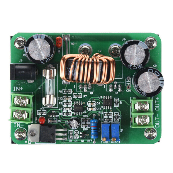 10A DC-DC 600W 10-60V to 12-80V Boost Converter Step-up Module Power Supply P2D4