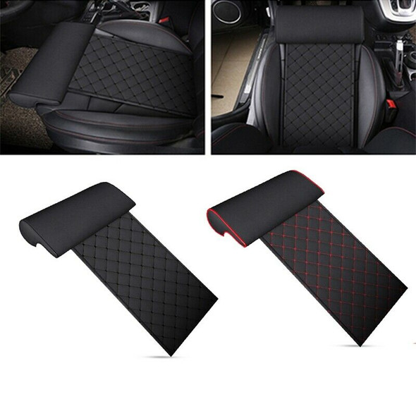Automobile Seat Leather Leg Pad Support Extension Mat Soft Foot Support Leg R5E9