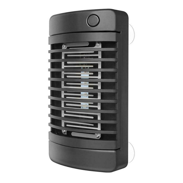 4LED Solar Mosquito Killer Lamp Electric Shock Insect Zapper Fly Trap Lamp Light