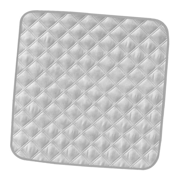 3Pcs Gray Waterproof Absorbent Chair Protector Pad For Incontinence People