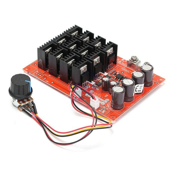 DC Motor Speed Controller High Power Driver RC Control Module 3000W Cord Switch