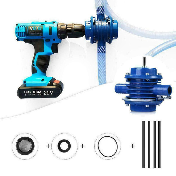 Mini Hand Electric Drill Water Pump Self-Priming Household Small Motor L8R7 M9H2