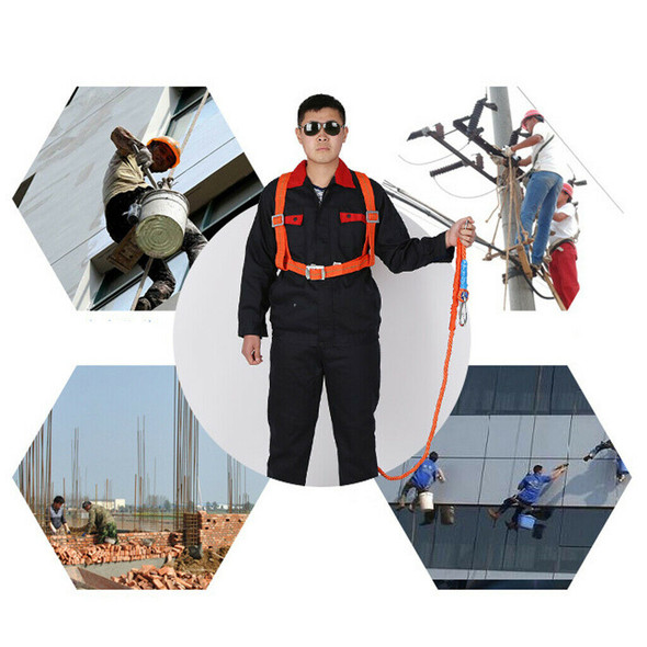 3 Meter Safety Harness Fall Arrest for Spin, Rescue, Construction 100kg