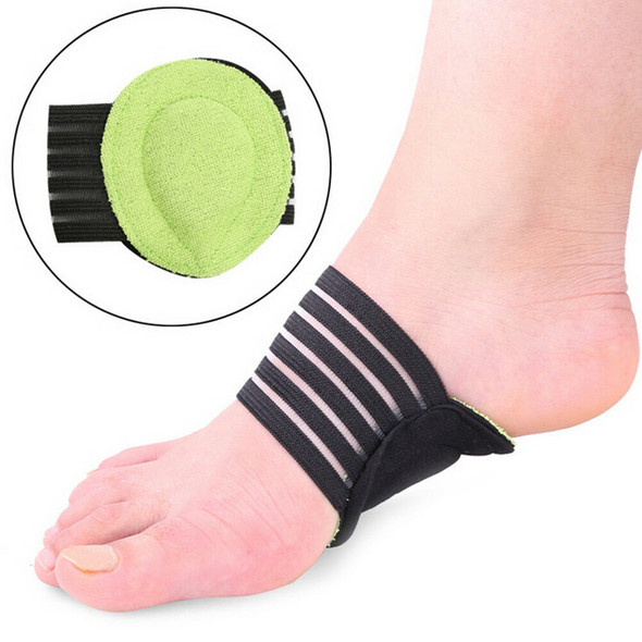 2pc Thickening Count Foot Cushioned Arch Supports with Shock Absorbing Core SE