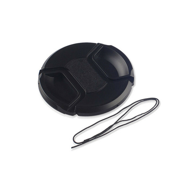 Hot! 52mm Center Pinch Snap Front Lens Cap for Canon Nikon Sony filter CA