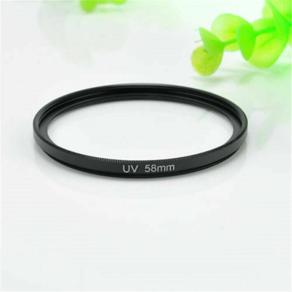 Polarizing UV Filter 58mm Circular Lens Protector for Canon Rebel 18-55mm ~~