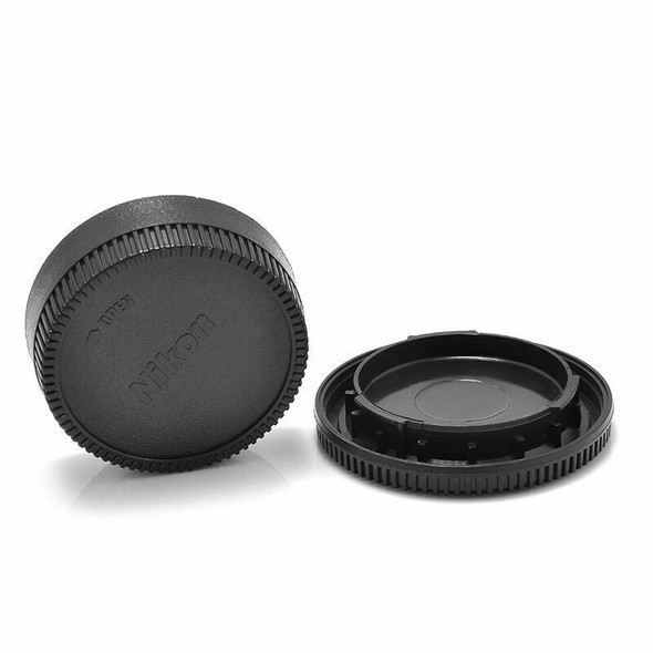 For Nikon AF AF-S Lens DSLR SLR Camera New Body Front+Rear Lens Cap Cover YK