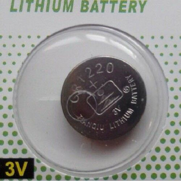 5x CR1220 3V Coin Button  Cell Battery For kids Toys Calculator