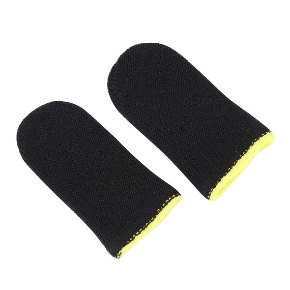 2x Breathable Game Controller Finger Cover Sweat Proof Thumb Sleeve (C) A#S