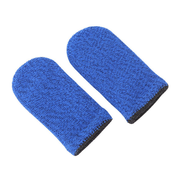 2x Breathable Game Controller Finger Cover Sweat Proof Thumb Sleeve (B) A#S