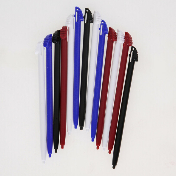12x Multi Colors Touch Screen Stylus Pen for Nintendo 3DS N3DS XL LL
