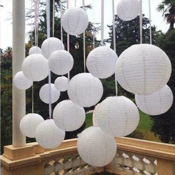 Waterproof LED Solar Cloth Chinese Lantern Festival Hanging Party Lamp G9Y1