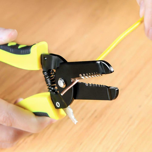 Multi-function 7 In 1 Tool Cable Wire Stripper Stripping Cutting Pliers