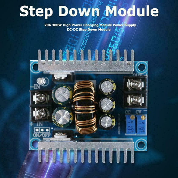DC-DC Converter 20A 300W Step down Boost Power Charger Adjustable J3L1