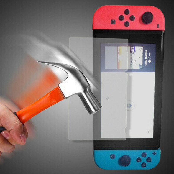 2PCS Tempered Glass Screen Protector  Guard for Nintendo Switch A#S