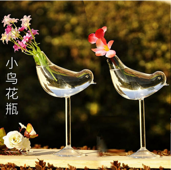 Iron Hanging Plant Stand Glass Flower Plant Vase Stand Terrarium Container