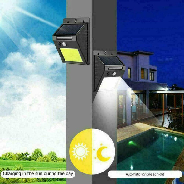 48LED Solar Light Powered Motion Sensor Outdoor Garden 2020 X9F1 Lamp H6Z5