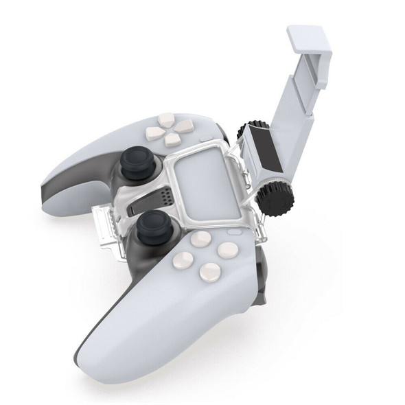 Handle Phone Holder Adjustable Portable Clamp for PS5 Console Game Controller