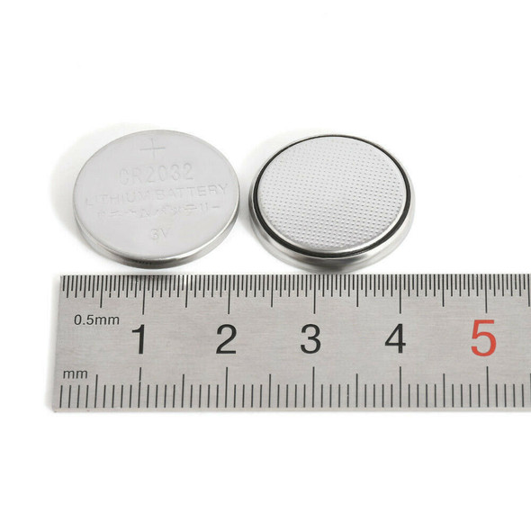 25X CR2032 CR 2032 3V Button Cell Battery for Watch Toys Remote Set.
