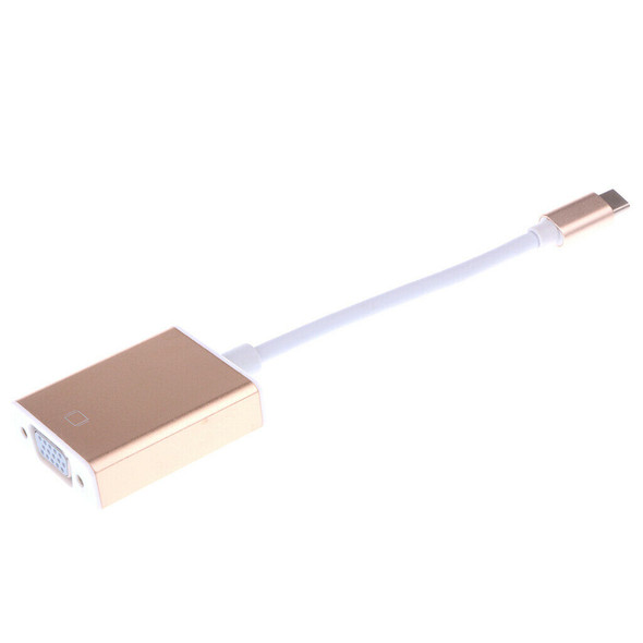 USB3.1 Type C to VGA Adapter Cable USB-C To VGA Video Transfer for Macbook#2