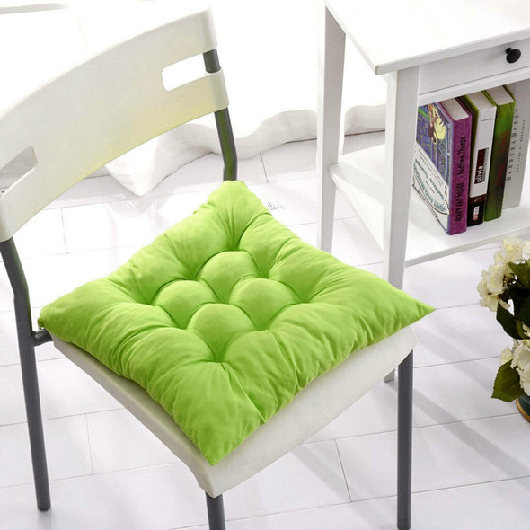 Outdoor Dining Garden Decor Kitchen Office Home Chair Seat Cushion Pad-Green