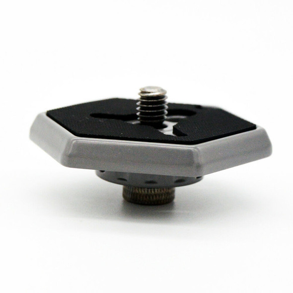 Hexagonal Quick Release Plates 3049 3/8 Screw For Manfrotto RC0 Tripod