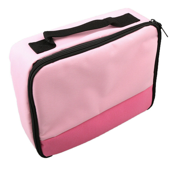 Portable Storage Carrying Case Bag for Mobile Printer CP1200 CP910 Bag Pink