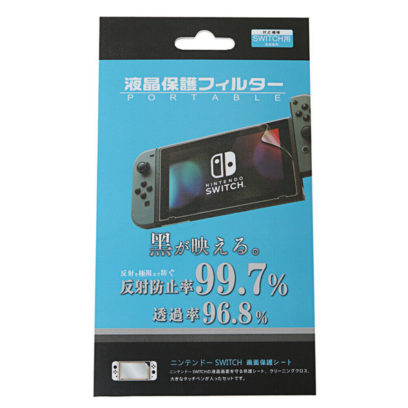 New 10pcs/lot Clear LCD Screen Protector Film Guard  For Nintendo Switch