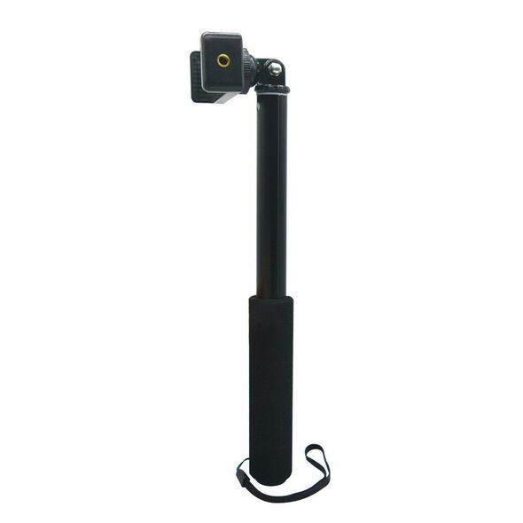 Selfstick Extendable Pole 1/4'' Selfie Stick Monopod Rotatable For GoPro